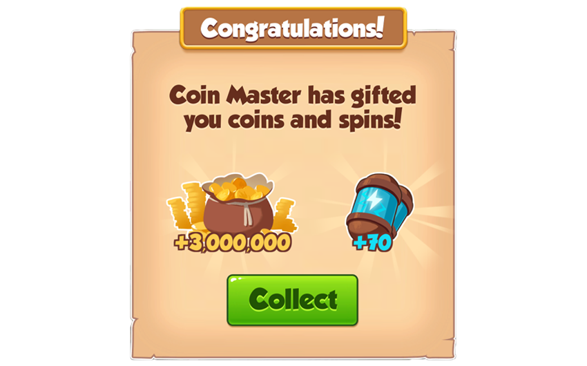 16-01-2019 - 2nd Link For 70 Spins And 3M Coins