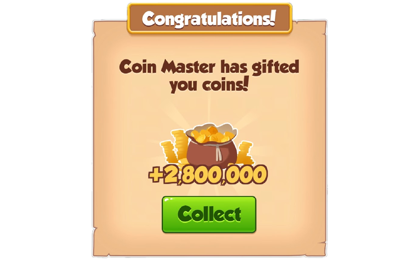 03-01-2019 - 2nd Link For 2.8M Coins