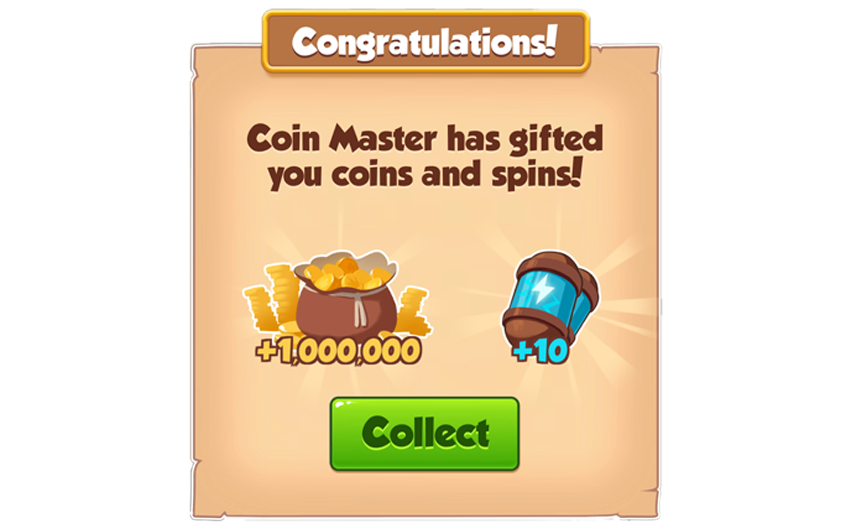 03-02-2019 - 1st Link For 10 Spins And 12M Coins