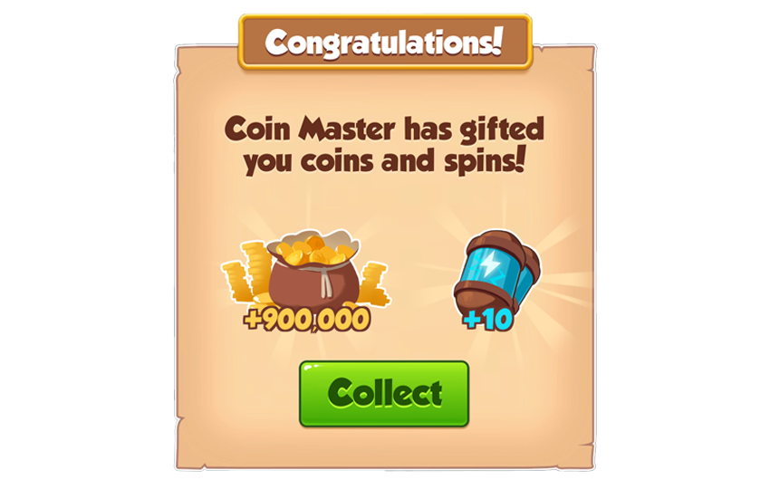08-01-2019 - 1st Link For 10 Spins And 0.9M Coins