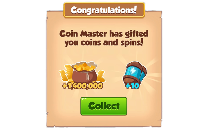 04-01-2019 - 1st Link For 10 Spins And 1.4M Coins
