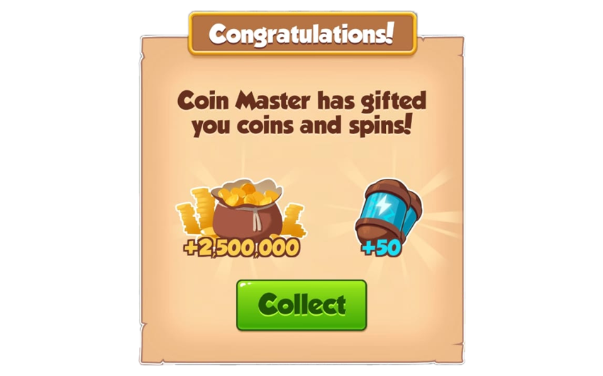 13-01-2019 - 2nd Link For 50 Spins And 2.5M Coins