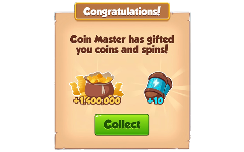 04-01-2019 - 2nd Link For 20 Spins And 1.4M Coins