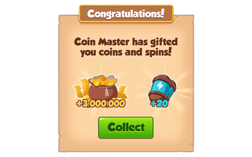 15-01-2019 - 1st Link For 20 Spins And 3M Coins