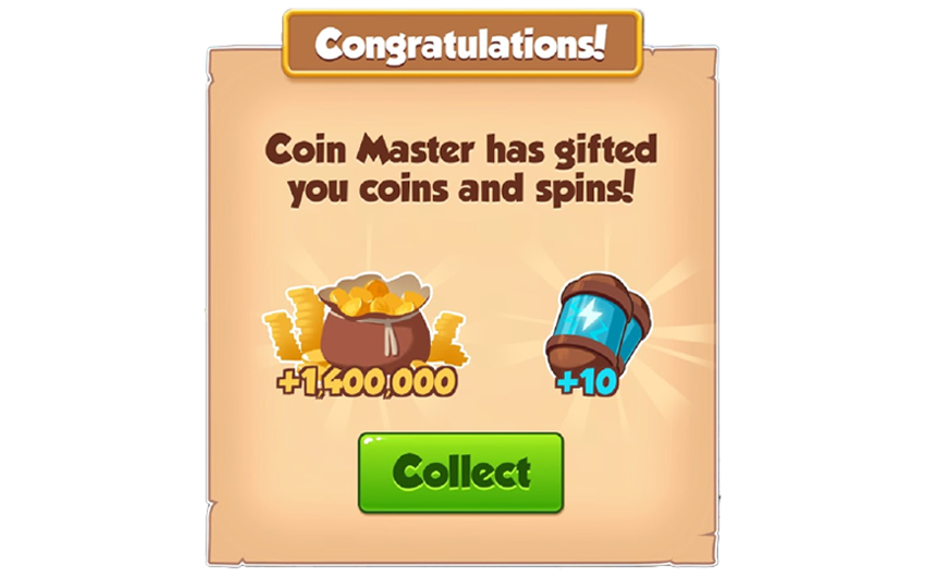 01-01-2019 - 2nd Link For 10 Spins And 1.4M Coins