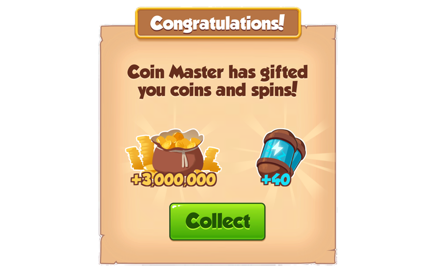 15-01-2019 - 2nd Link 40 Spins And 3M Coins