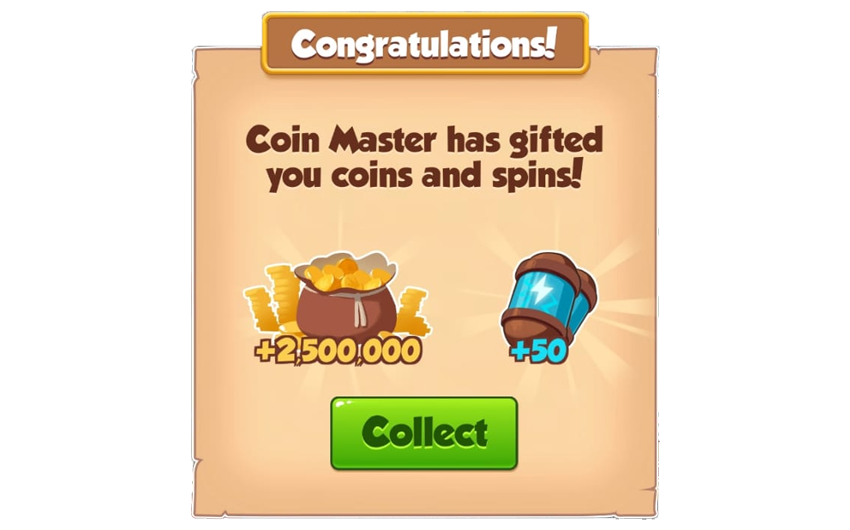 15-01-2019 - 3rd Link For 50 Spins And 2.5M Coins